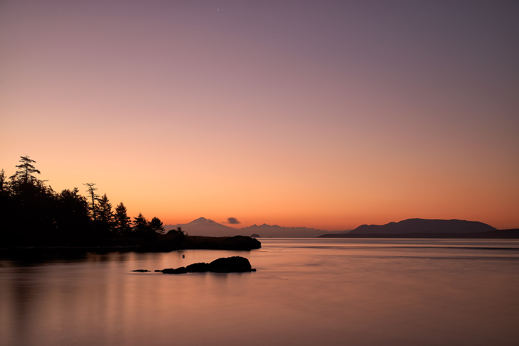Pre-Dawn at Brooks Point, South Pender Island ©johncameron.ca