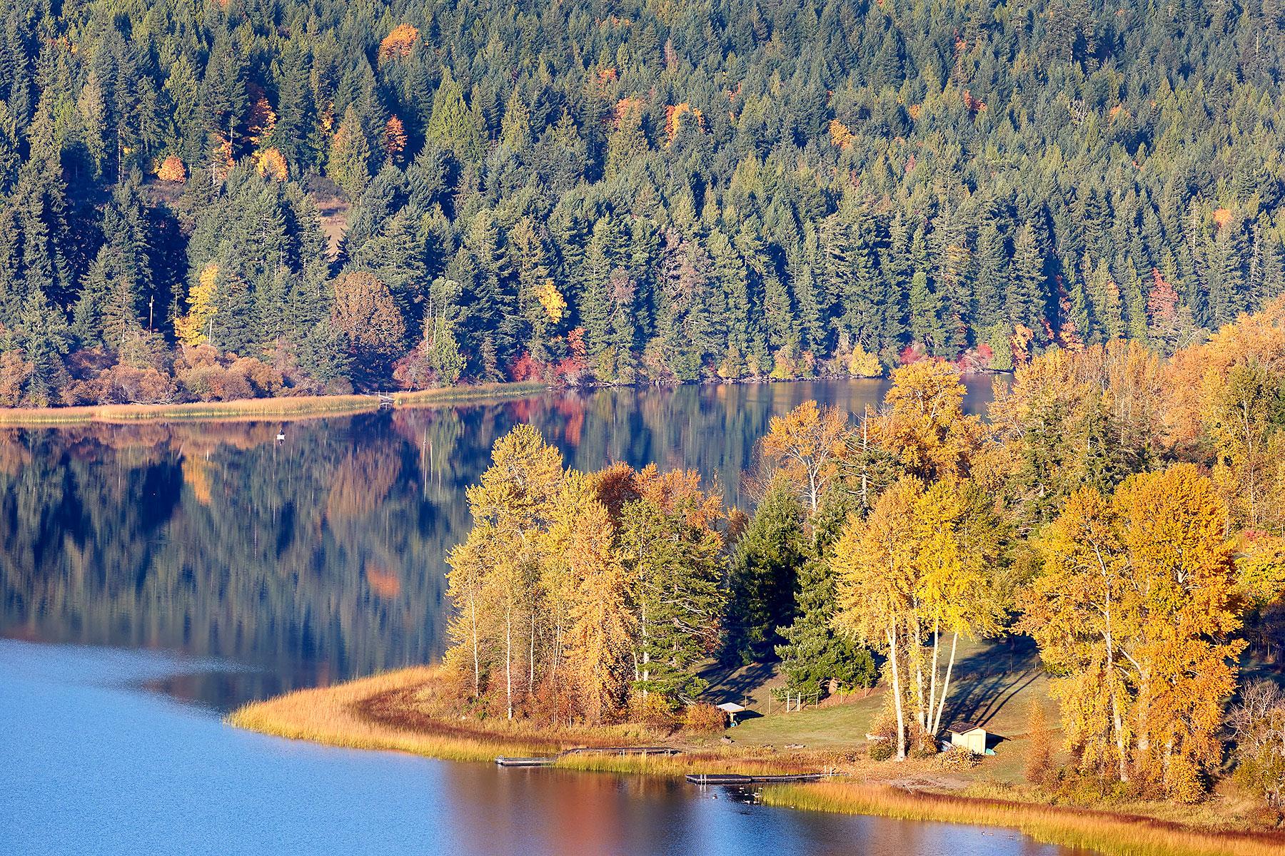 St. Mary Lake, Autumn Colours ©johncameron.ca
