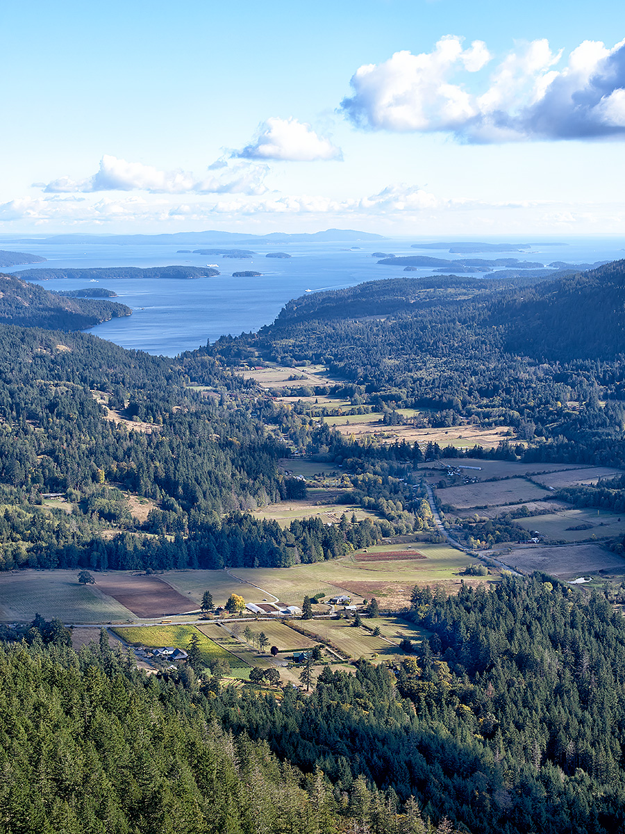 Saltspring, Fulford and Burgoyne Valley on Fall afternoon ©johncameron.ca