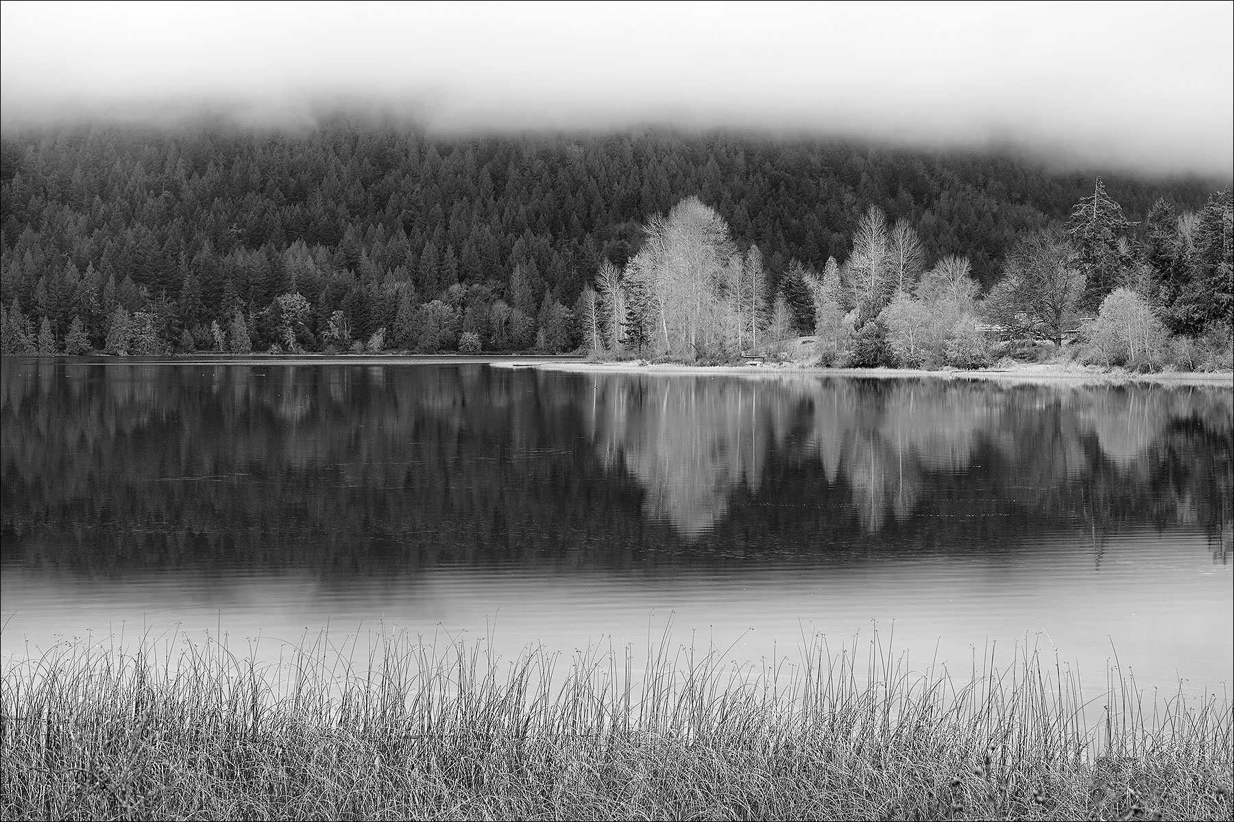 St. Mary Lake on Salt Spring Island ©johncameron.ca