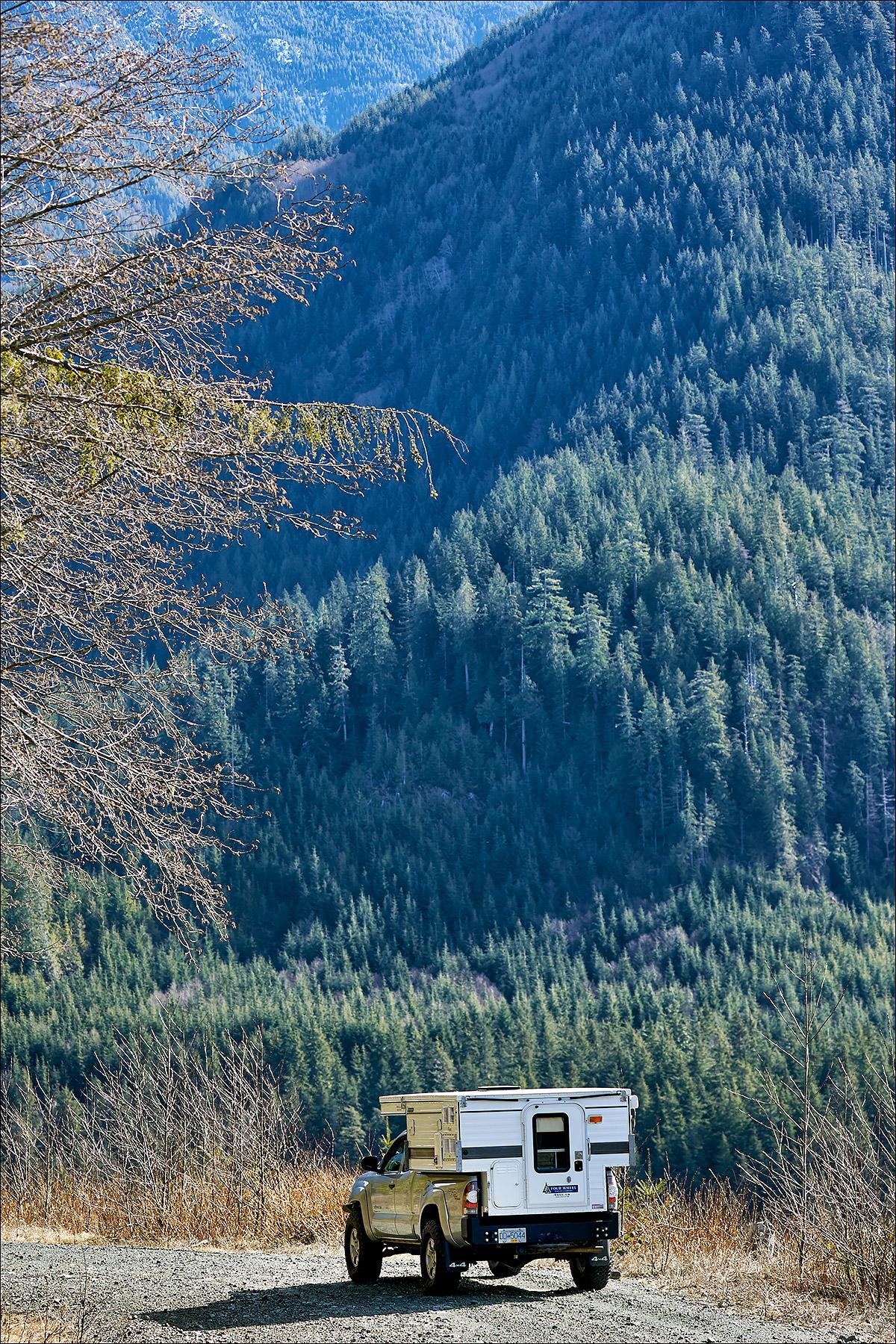 4 Wheel Camper near Port Renfrew
