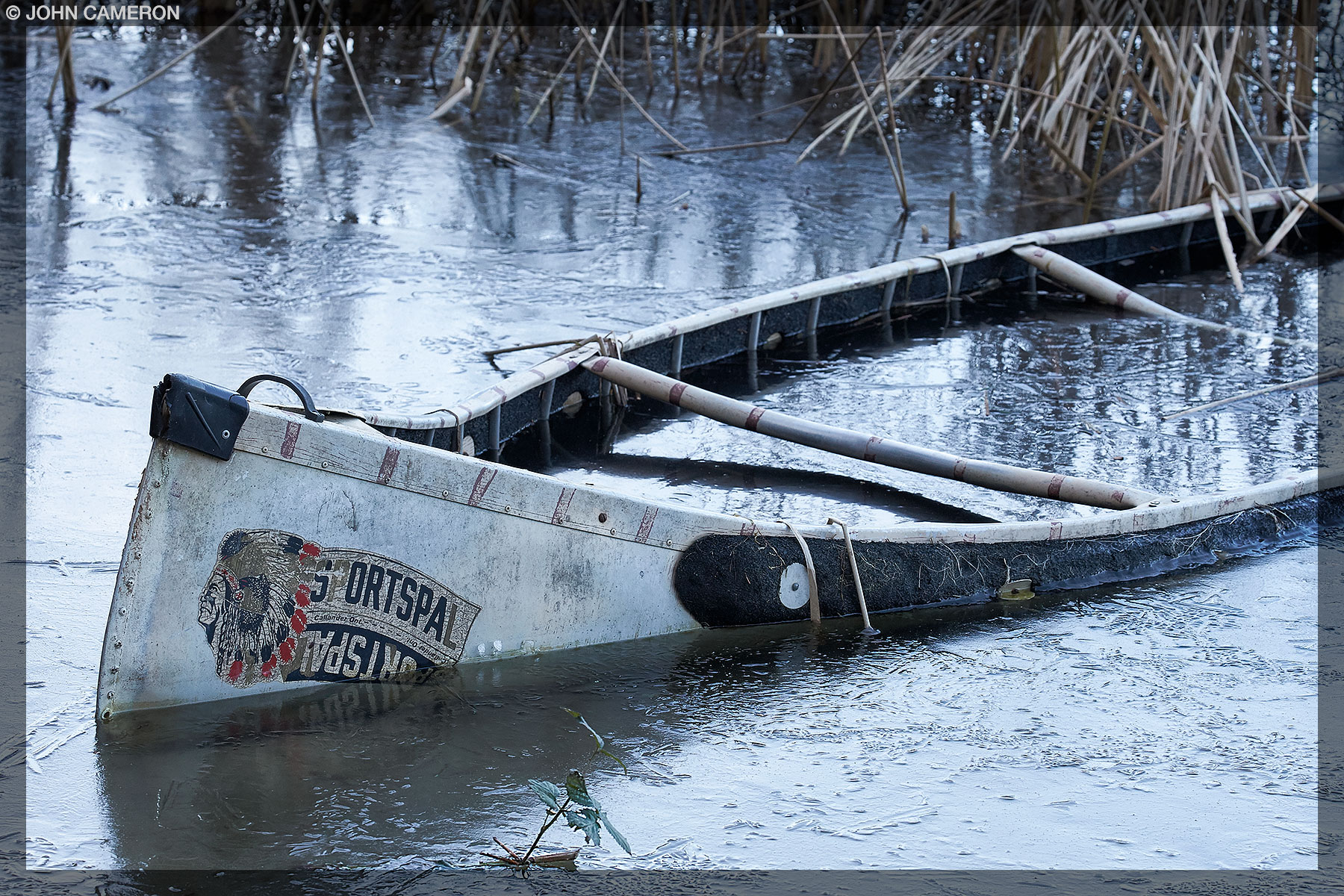 Captured Canoe