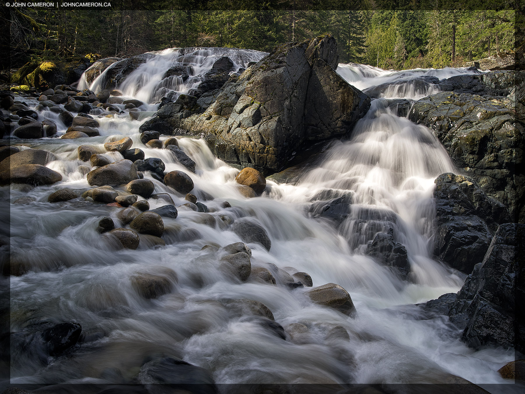 Near the Falls