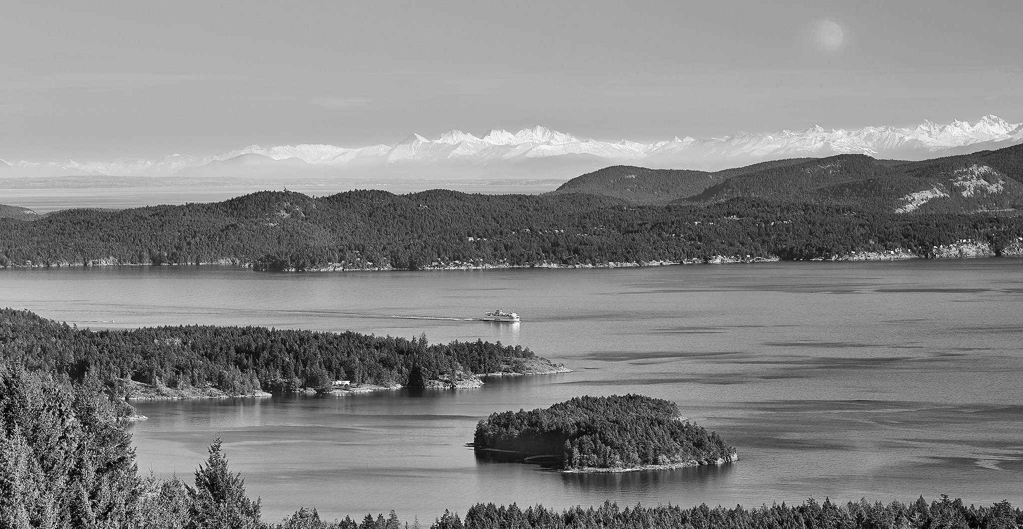 Winter Day, From Salt Spring Island
