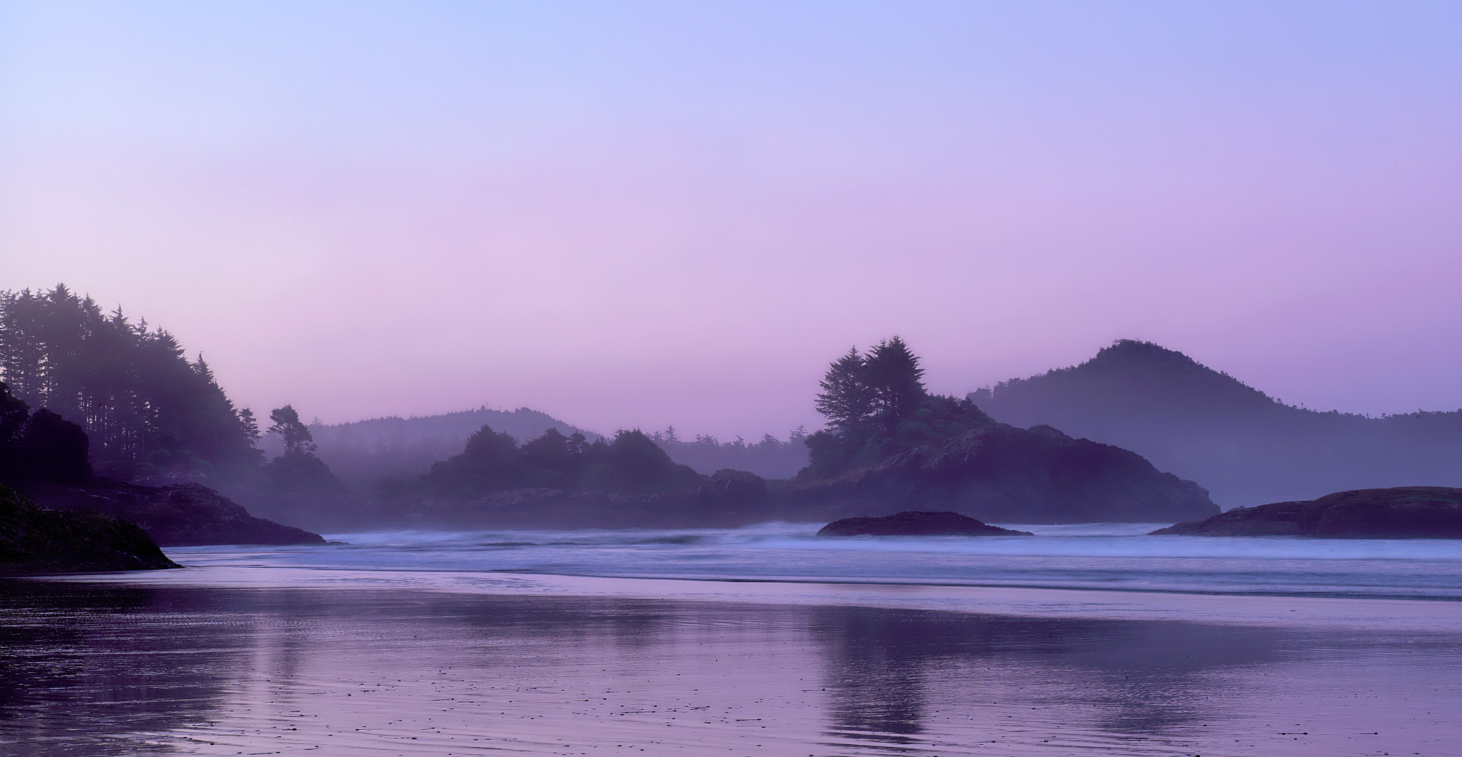Magic Pre-Dawn on Chesterman Beach