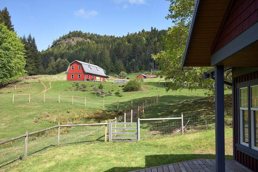 A rare new home and 12 acres on Salt Spring Island ©johncameron.ca
