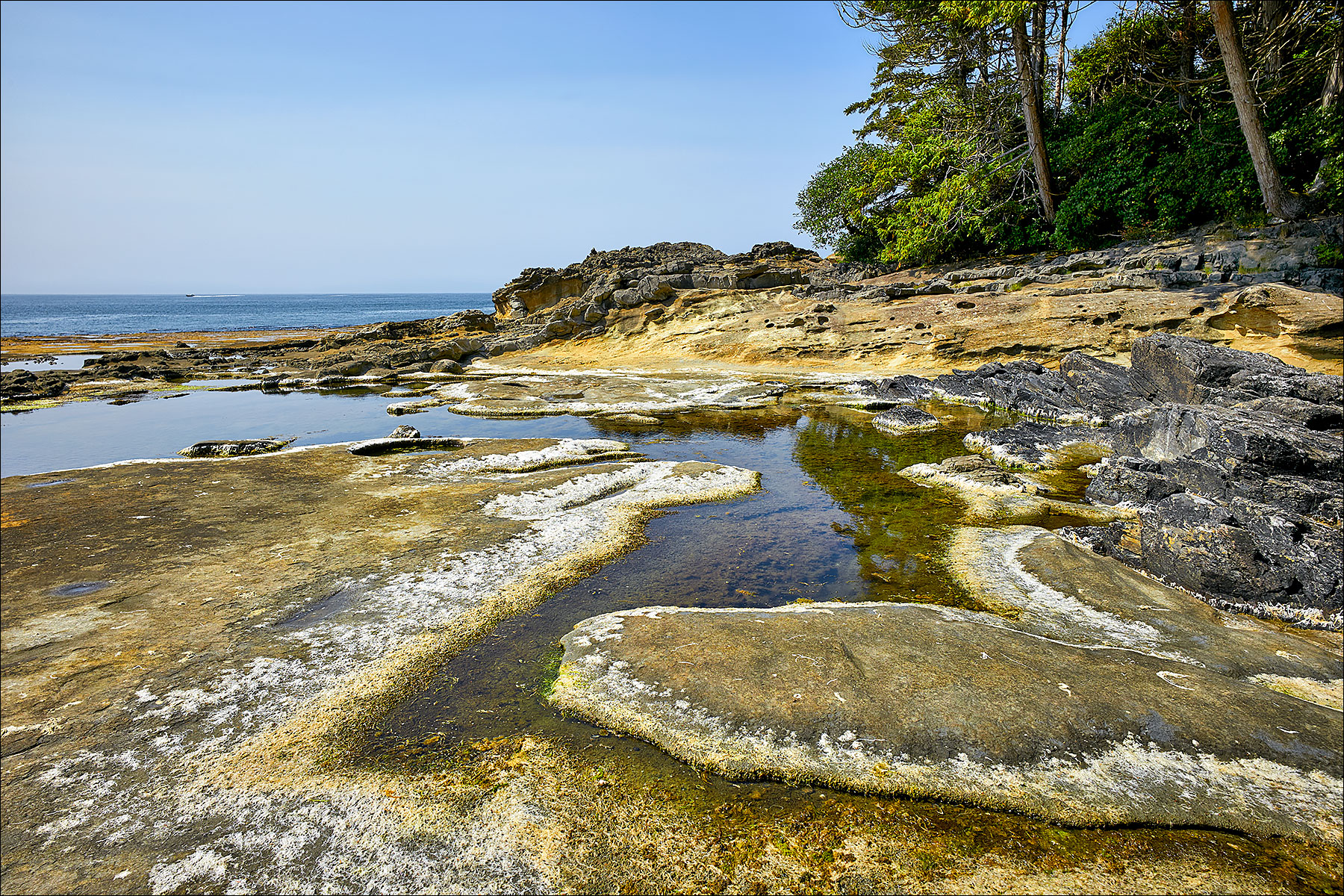 Tom Baird beach on the Juan de Fuca Marine Trail ©johncameron.ca