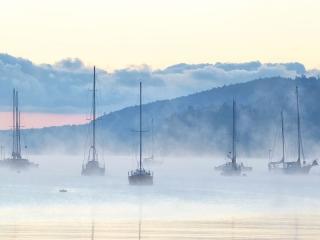 Ice Fog Harbour ©johncameron.ca