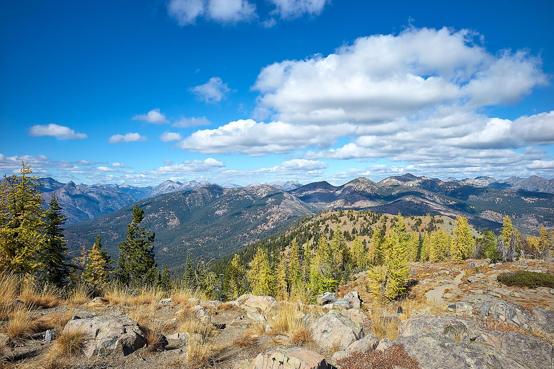 Trail to Goat Peak Lookout, Washington State © johncameron.ca