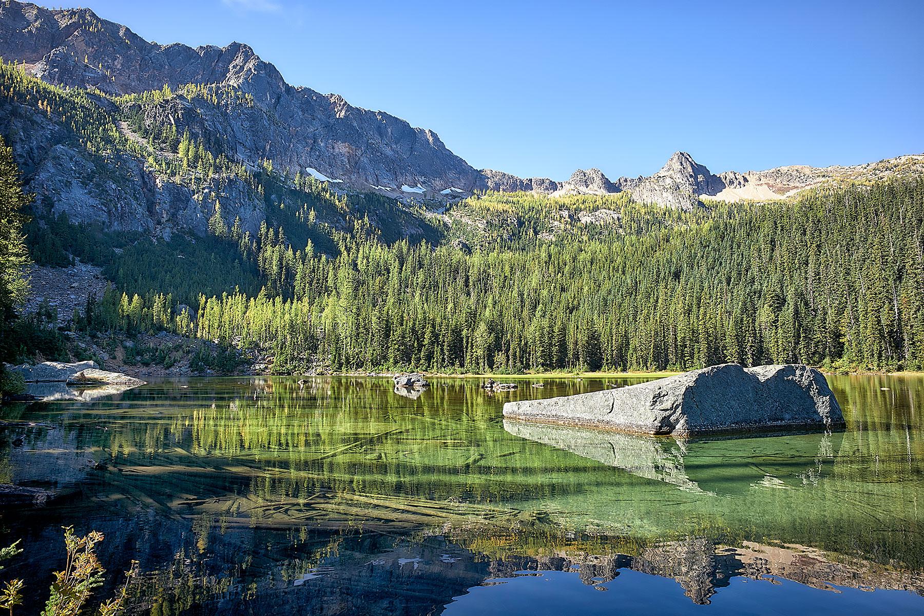 Cutthroat Lake, Washington © johncameron.ca